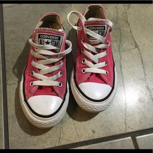 Converse Shoes - Pink converse size 12